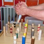 Bilaterales Umfassen eines Sensibiltitäs-Spiel-Stabes