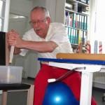 Bilaterales Arbeiten auf dem Gymnastikball