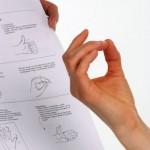 Finger-Handgelenksübungen